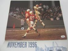 Lot 1051: PAUL WARFIELD SIGNED AUTOGRAPHED BROWNS 8X10 COA