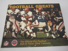 Lot 1052: JIM BROWN SIGNED AUTOGRAPHED BROWNS CALENDER COA