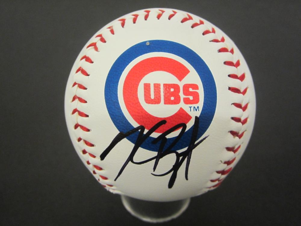 Lot 1055: KRIS BRYANT CUBS SIGNED AUTOGRAPHED BASEBALL CERTIFIED COA
