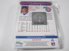 Lot 1095: 2013 Iowa Cubs Official MiLB Complete Team Set Eduardo Sanchez 1-36
