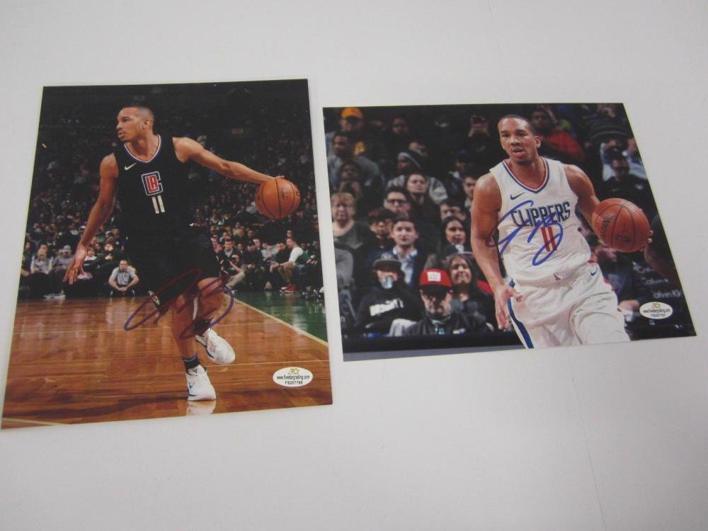 Lot 1140: (2)AVERY BRADLEY SIGNED AUTOGRAPHED CLIPPERS 8X10 COA