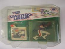 Lot 1144: OZZIE NEWSOME SIGNED AUTOGRAPHED BROWNS STARTING LINEUP CAS COA