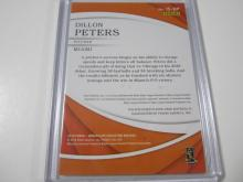 Lot 1148: 2018 PANINI IMMACULATE COLLECTION JERSEY RELIC 83/99 DILLON PETERS MIAMI MARLINS SPORTS CARD #IS-DP