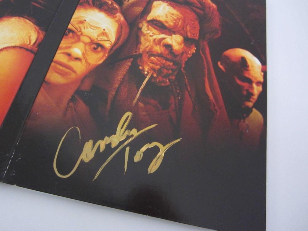 "Lot 1158: Cast Signed (6 Autographs) ""Angel"" Season 5 DVD Set Certified CoA"