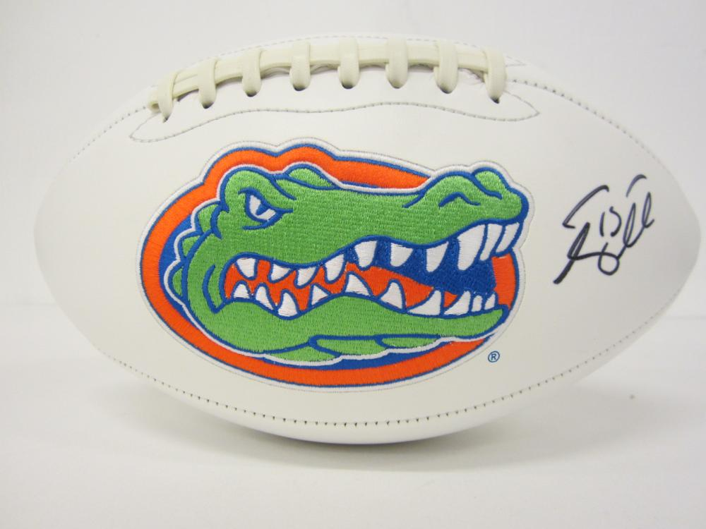 Lot 1177: TIM TEBOW GATORS SIGNED AUTOGRAPHED FOOTBALL CERTIFIED COA