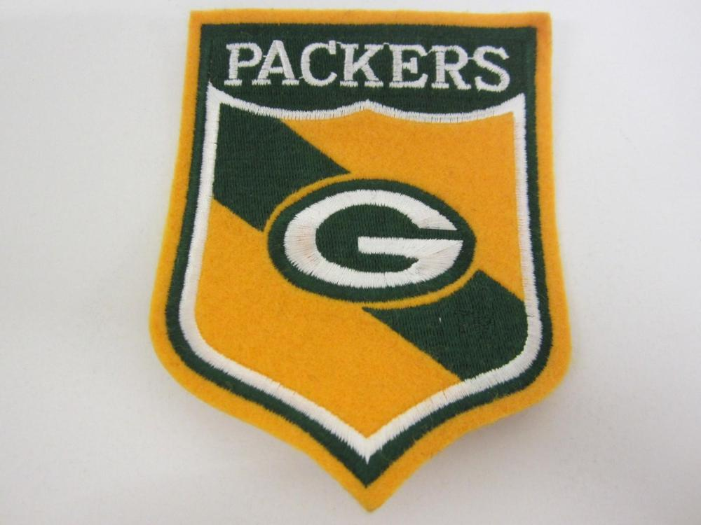 "Lot 1179: GRENNBAY PACKERS TEAM PATCH 5""+"