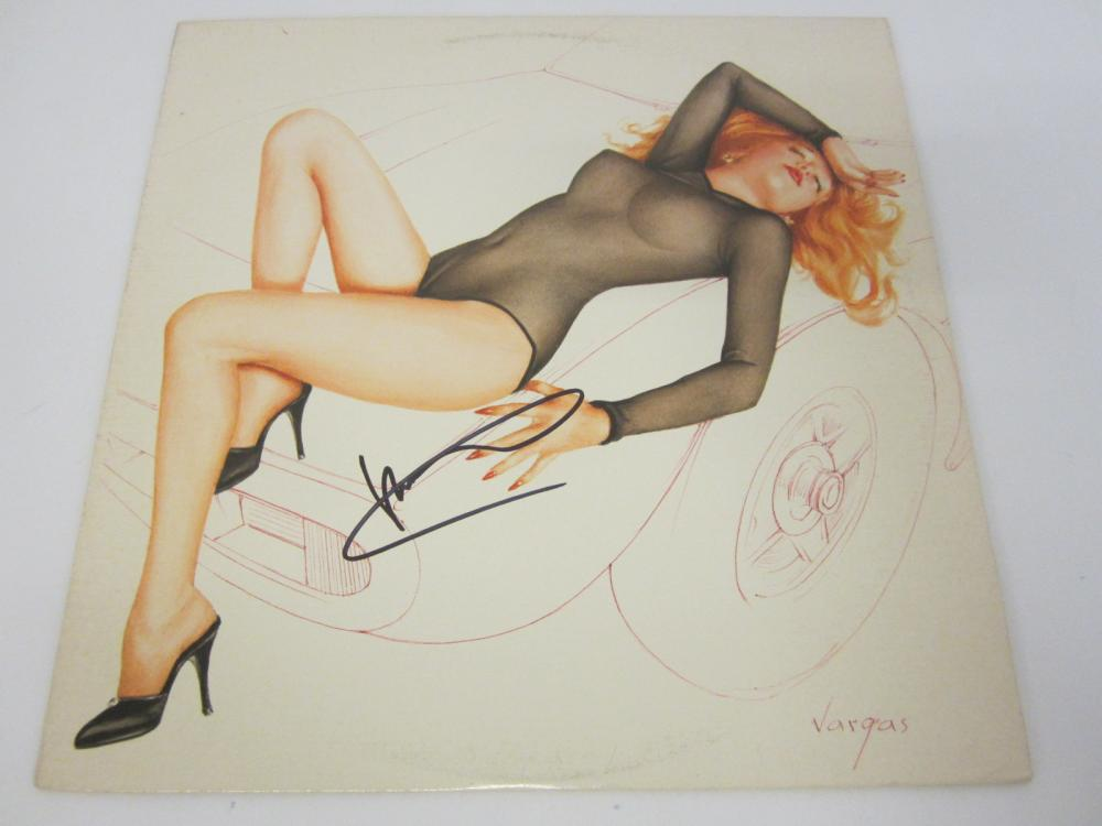 Lot 1183: RIC OCASEK SIGNED AUTOGRAPHED RECORD ALBUM CERTIFIED COA
