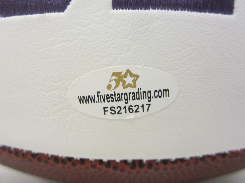 Lot 1182: TREVOR LAWRENCE CLEMSON SIGNED AUTOGRAPHED FOOTBALL CERTIFIED COA