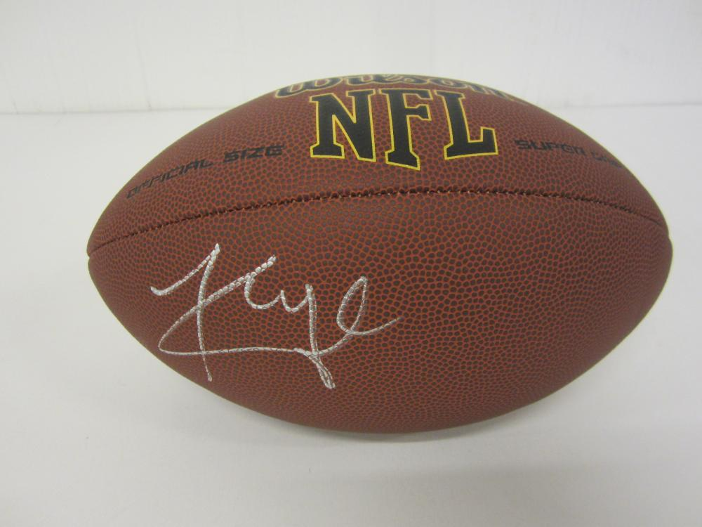 Lot 1195: KYLER MURRAY CARDINALS SIGNED AUTOGRAPHED FOOTBALL CERTIFIED COA