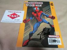 Stan Lee Autographed Spiderman comic book