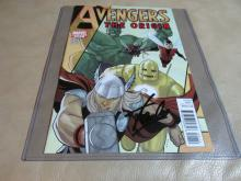 Stan Lee Autographed Avengers comic book