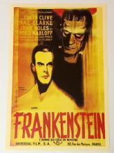 Old Frankenstein Poster