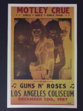 Old Motley Crew Poster