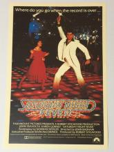 Old Saturday Night Fever Poster