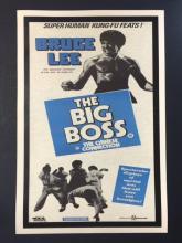 Old Bruce Lee Poster