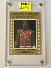 1984 Michael Jordon card