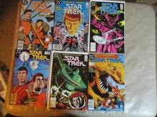 Nice Set Of Star Trek Comic Books