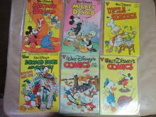 vintage set of Walt Disney Comic Books
