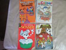 Nice Mixture of Harvey,Golden key,walt disney comic books