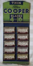 Blue Cooper Thin Blades POS Display