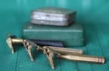 3 Antique Gem Razors and 2 Vint. Boxes