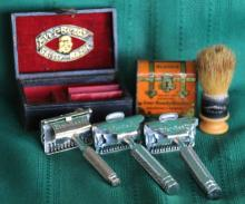 Antique Ever-Ready Safety Razor Collector's Lot