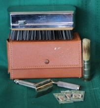 Vintage The Weekender Travel Grooming Kit
