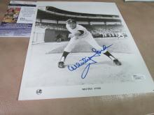 Whitey Ford autographed photo