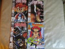 Nice set of Marvel commic books Sabretooth, Ravage