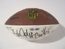 Cleveland Browns Signed Football, Jim Brown,Brian Sipe,Bob Golic and more