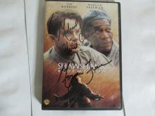 Shaw Shank redemtion DVD signed By morgan freeman