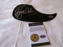 Beautiful Roger Waters Pink Floyd Signed Autographed Pick Guard