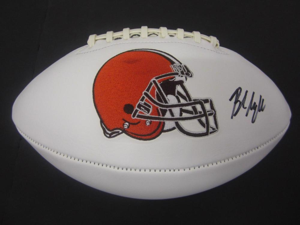 Baker Mayfield Browns signed autographed Football Certified