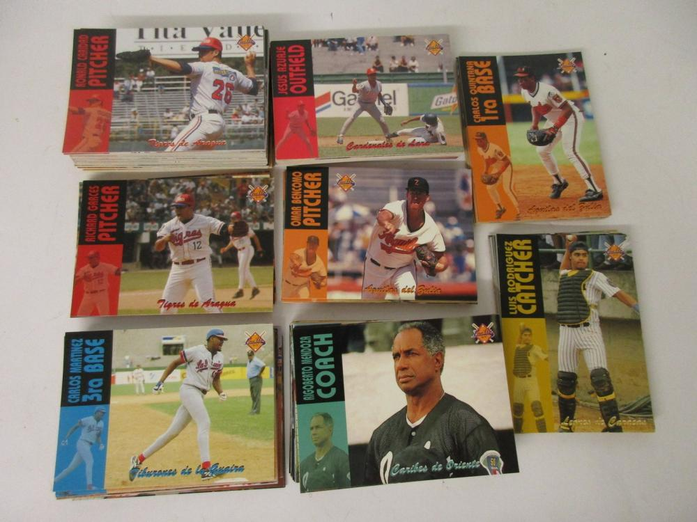 1996 Line Up Baseball Card Lot Carlos Martinez and others Puerto Rico