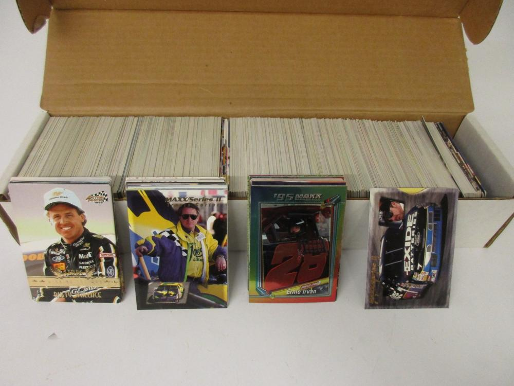 NASCAR Racing Collectors Cards Huge Lot #2 many different cards & drivers