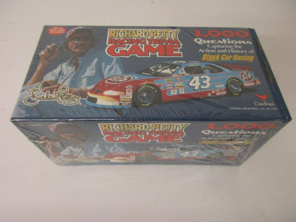 Richard Petty NASCAR Racing Trivia Game Factory Sealed 1000 Trivia Questions