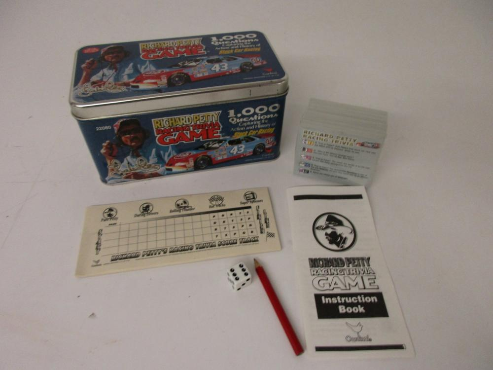 Richard Petty NASCAR Racing Trivia Game 1000 Trivia Questions Sealed Cards