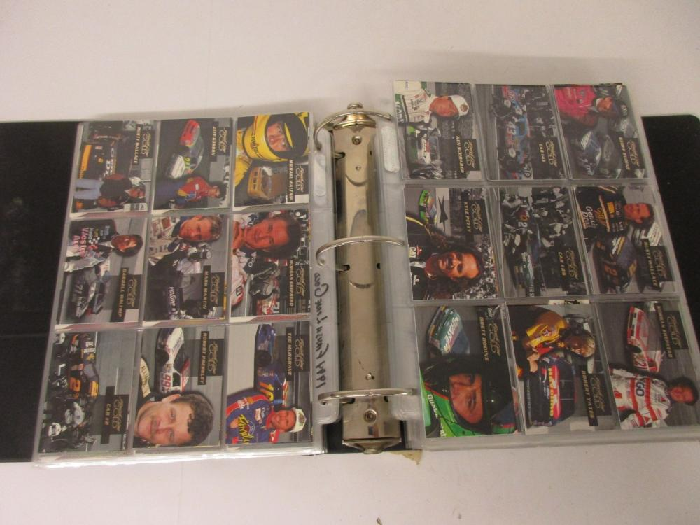 NASCAR Racing Sets in #6 Binder 94 Finish Line 94 Maxx 94 Press Pass VIP +others
