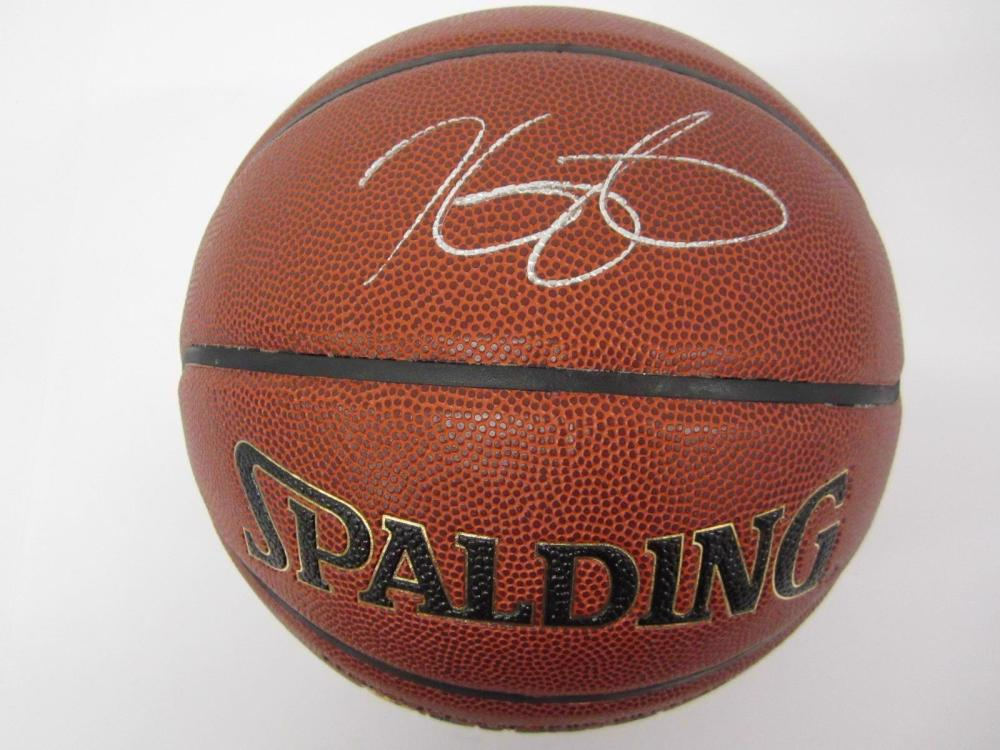 Kevin Durant Warriors signed autographed Basketball FIVESTAR Certified
