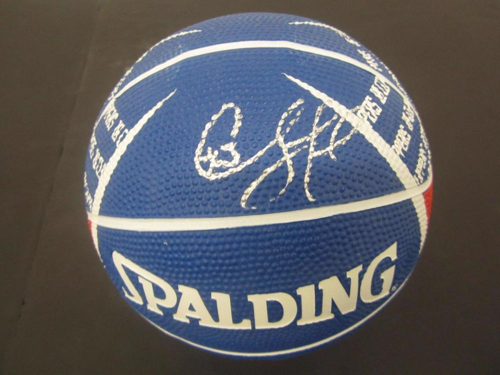 Chris Paul Clippers signed autographed Mini Logo Ball Certified