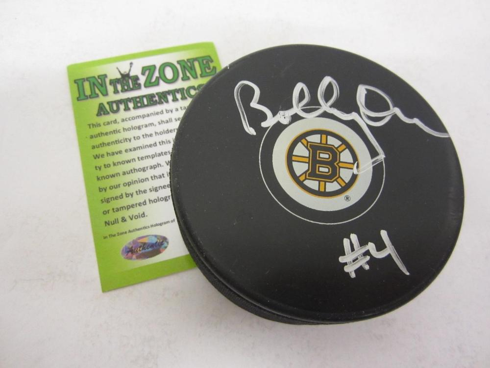 BOBBY ORR BRUINS SIGNED AUTOGRAPHED HOCKEY PUCK CERTIFIED COA