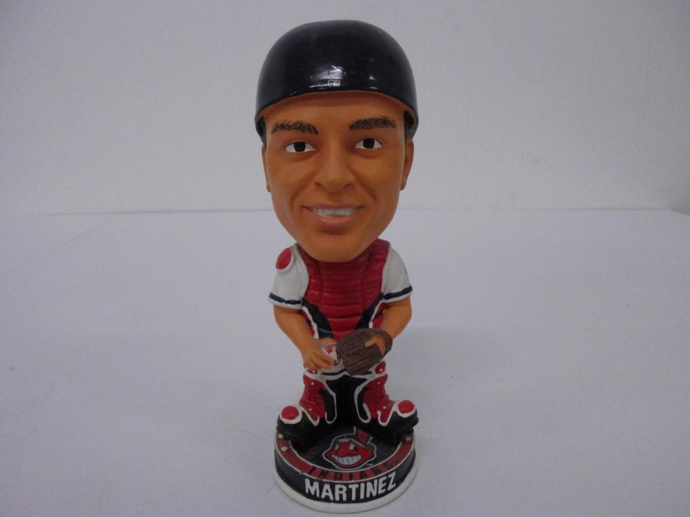 VICTOR MARTINEZ INDIANS FOREVER COLLECTIBLES BOBBLEHEAD