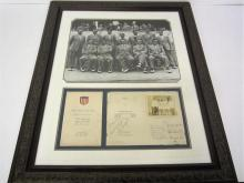 Rare Ruth,Gehrig,worhol,Sinatra,Armstrong,Clemente,Ali Signed Memorabilia and more A15