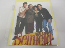 SEINFELD CAST MULTI SIGNED AUTOGRAPHED 8X10 PHOTO JERRY SEINFELD AND OTHERS CERTIFIED COA