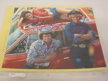 CAHERINE BACH, JOHN SCHNEIDER, TOM WOPAT DUKES OF HAZZARD SIGNED 8X10 PHOTO CERTIFIED COA