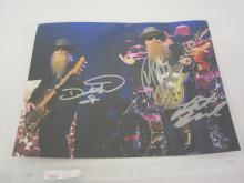 ZZ TOPP BAND MULTI SIGNED AUTOGRAPHED 8X10 PHOTO CERTIFIED COA