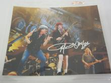ANGUS YOUNG AC/DC SIGNED AUTOGRAPHED 8X10 PHOTO CERTIFIED COA