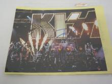 KISS BAND SIGNED AUTOGRAPHED 8X10 PHOTO GENE SIMMONS AND OTHERS CERTIFIED COA