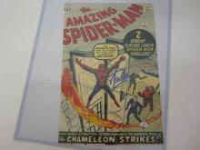 STAN LEE MARVEL SIGNED AUTOGRAPHED 8X12 PHOTO CERTIFIED PAASAA.COM