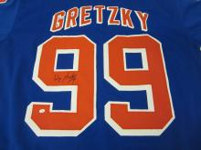 WAYNE GRETZKY RANGERS SIGNED AUTOGRAPHED JERSEY CERTIFIED PAASAA.COM